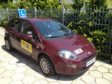 Fiat Punto Wiśnia