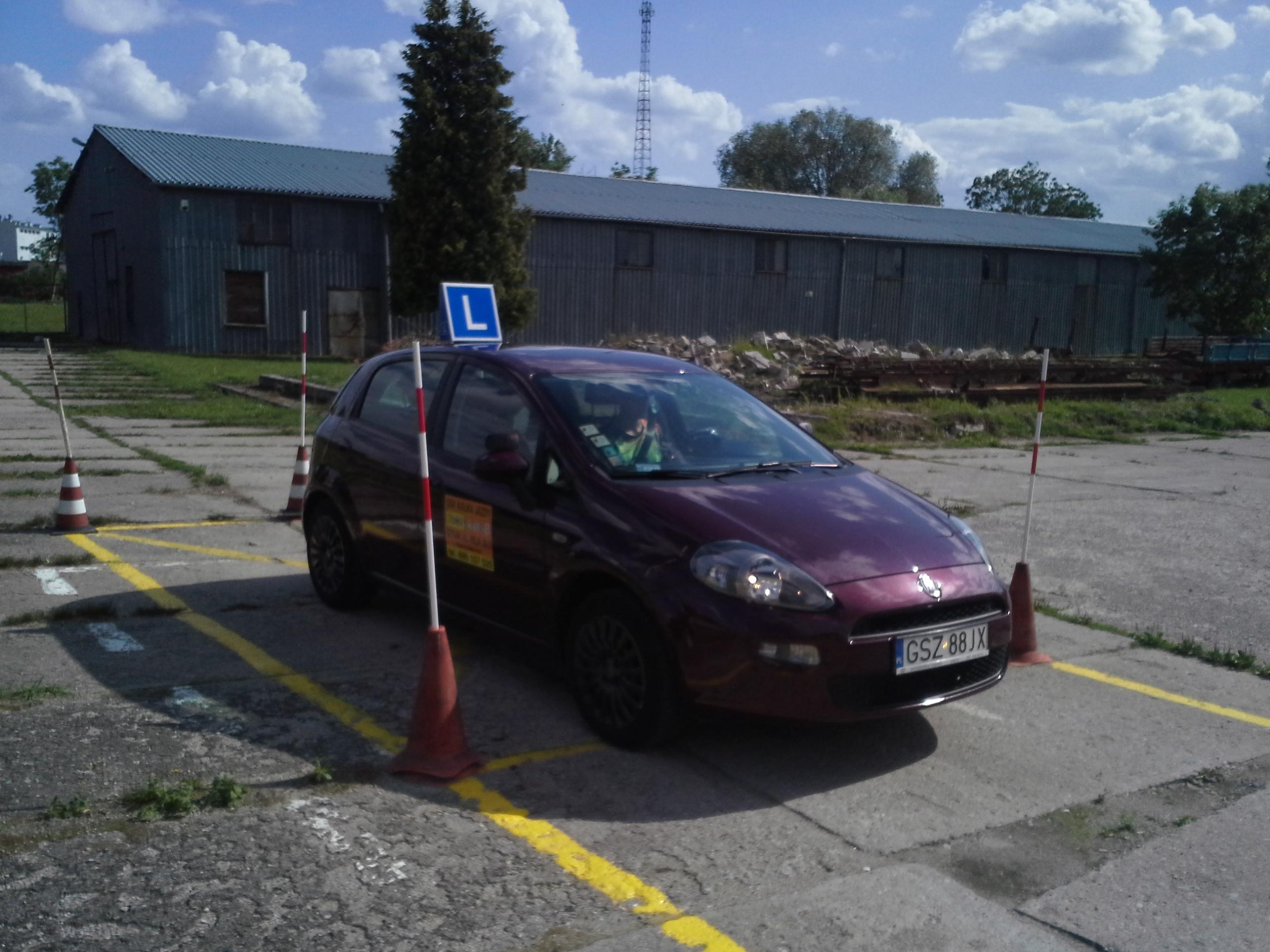 Fiat Punto Czarny